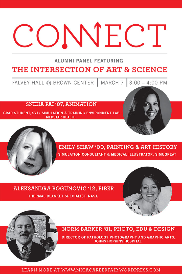 ALUMNI PANEL: The Intersection of Art & Science, from 3-4PM